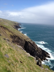 The view from Slea Head Drive