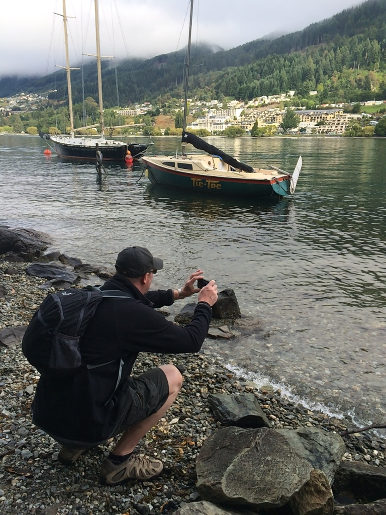 Chris catches the boats