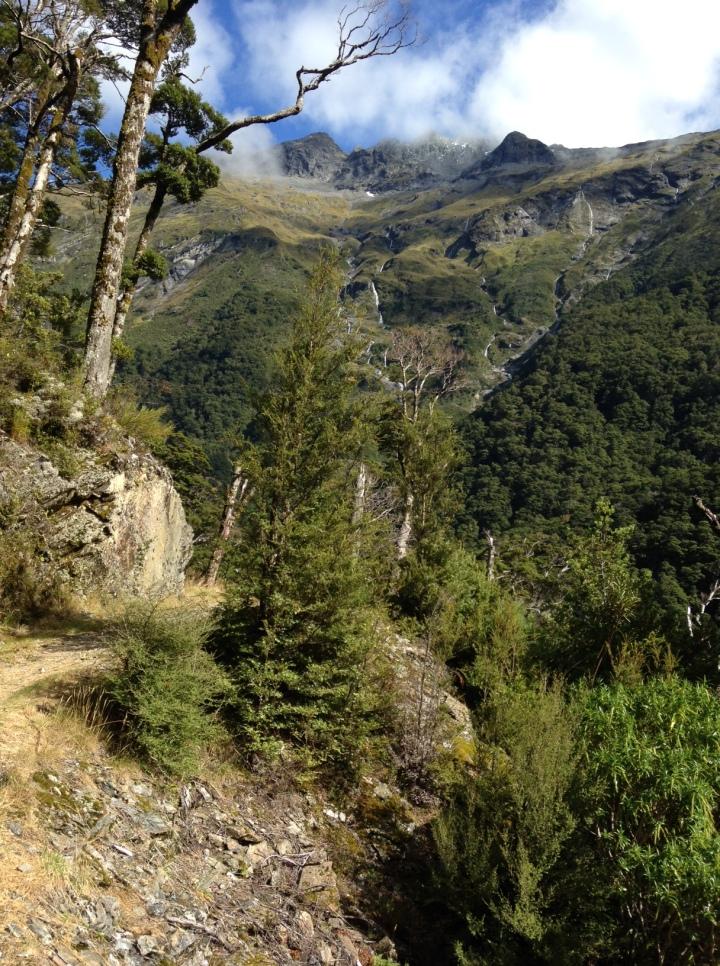 A three-hour hike