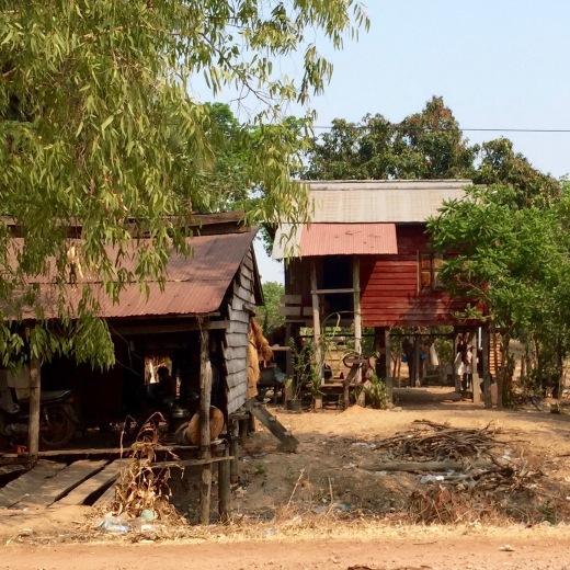cambodian-huts